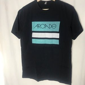 ARCADE Belt Brand Mens Tshirt Stripes M